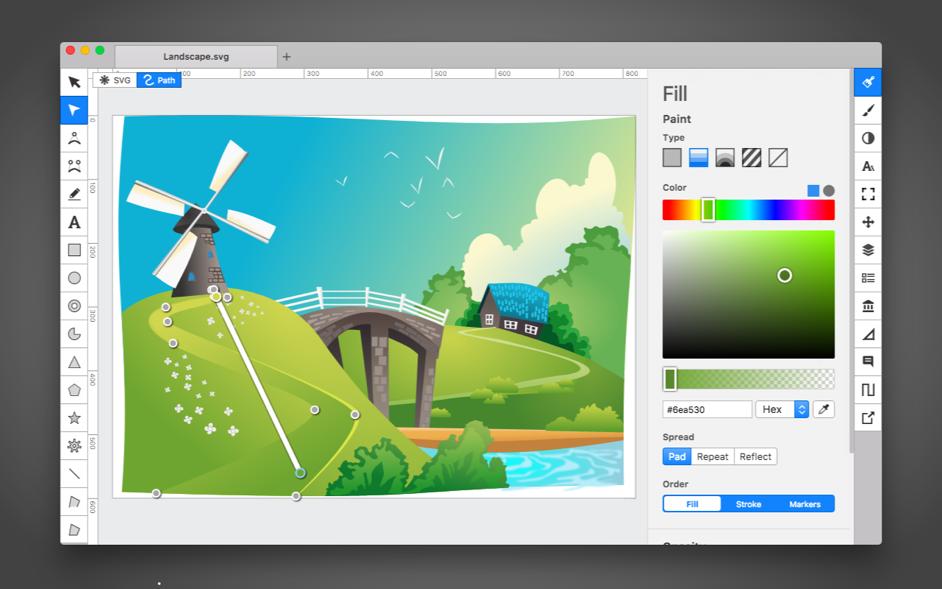 Boxy SVG Mac 破解版 可扩展的矢量图形编辑工具-麦氪派