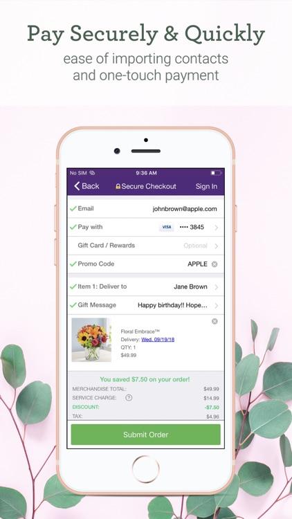 1800Flowers: Flowers & Gifts screenshot-4