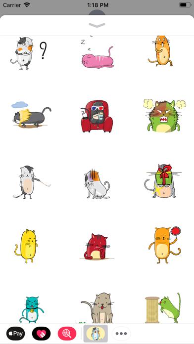 Screen Shot Funny Neko Cat Animated 0