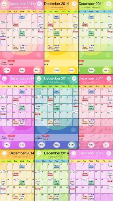 iWeeky Calendar Screenshot