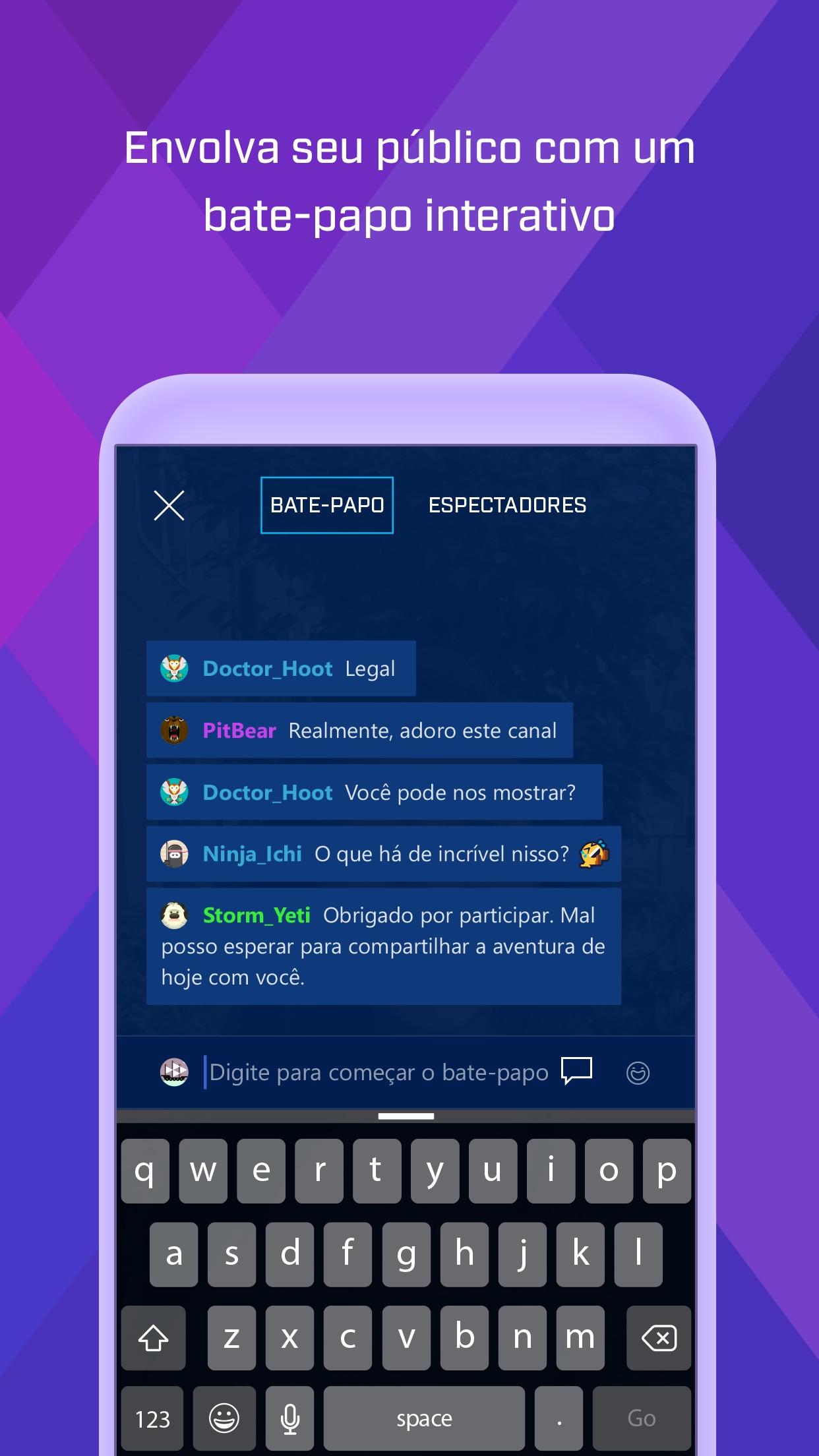Screenshot do app Mixer Create