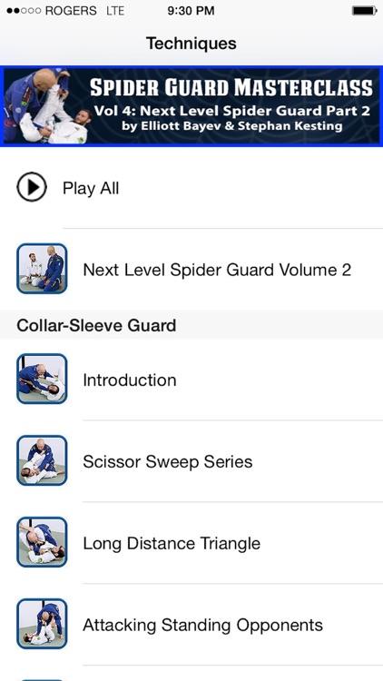 BJJ Spider Guard Vol 4