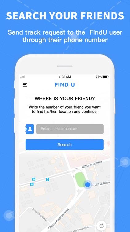 FindU - #1 location share app