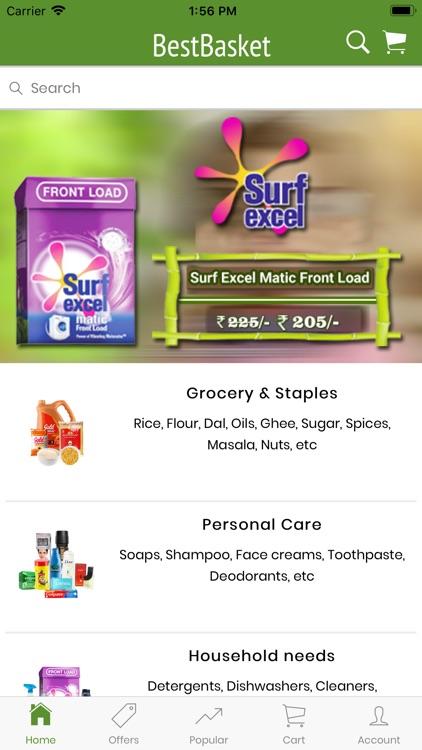 BestBasket - Online Grocery