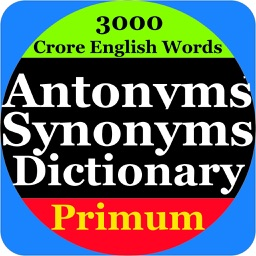Antonym Synonyms DictionaryPro