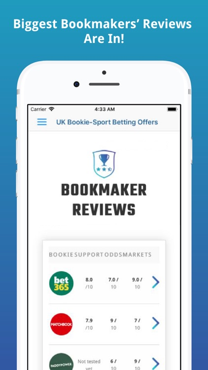 UK Bookie-Sport Betting Offers screenshot-3