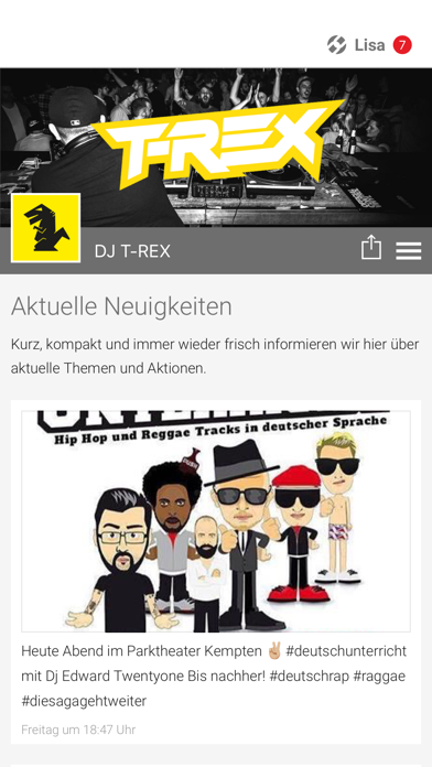 DJ T-REX screenshot 1