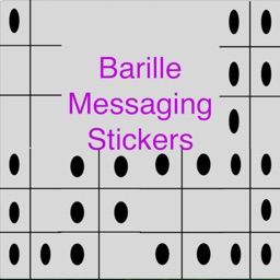Braille Messaging Stickers