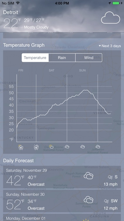 Weathėr Radar Pro screenshot-4
