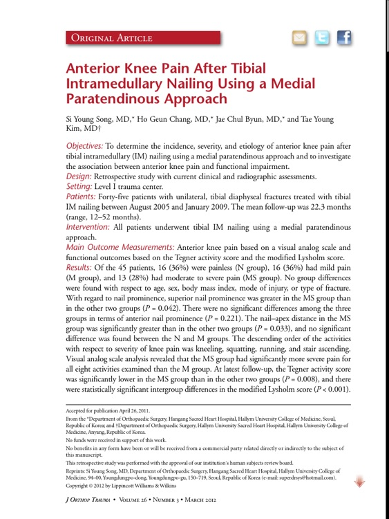 Journal of Orthopaedic Trauma screenshot-3