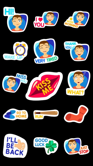 Texts from BF Stickers Emojis