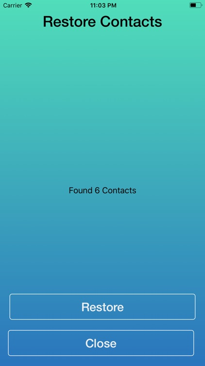 Easy Backup Contacts via Email