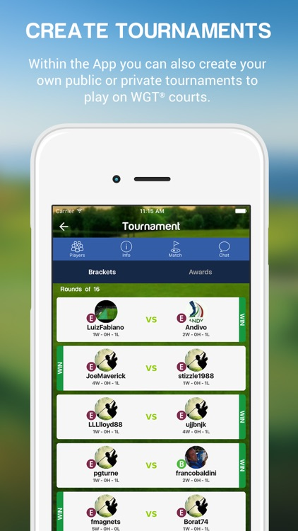 WGolf Tournaments screenshot-3