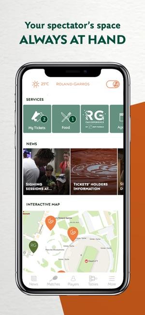 Roland Garros Location In Paris Map.Roland Garros Official On The App Store
