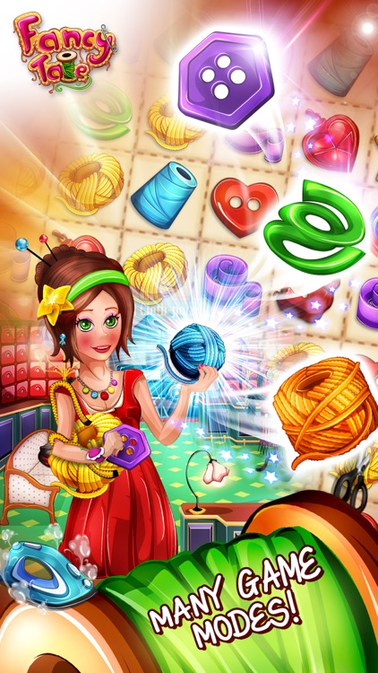 Fancy Tale - the fashion puzzle game screenshot-3