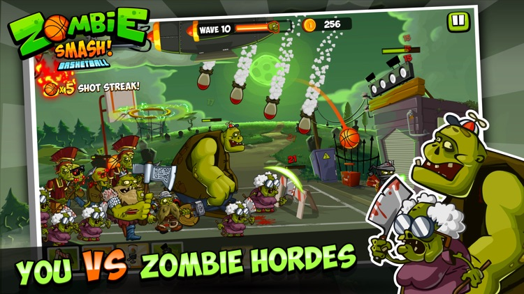 Zombie Smash! Basketball screenshot-0