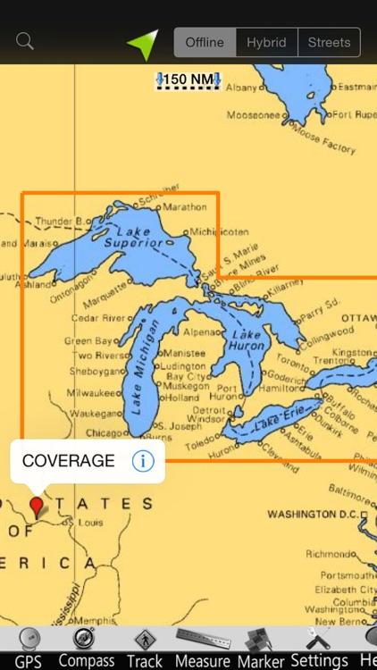 US Great Lakes Nautical Chart screenshot-4