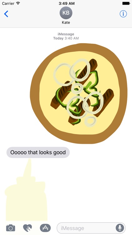 Pizza Toppings Stickers screenshot-3
