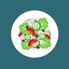 Livre de recettes de salade icon