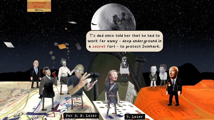 Cosmic Top Secret Game screenshot-3