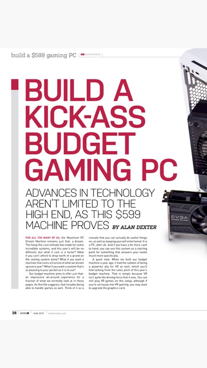 Maximum PC: computer news, reviews and projects
