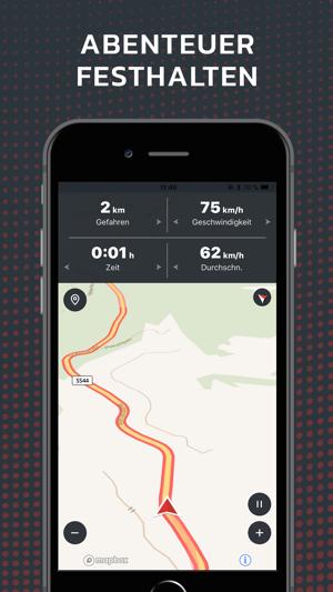 motorrad navigation calimoto im app store. Black Bedroom Furniture Sets. Home Design Ideas