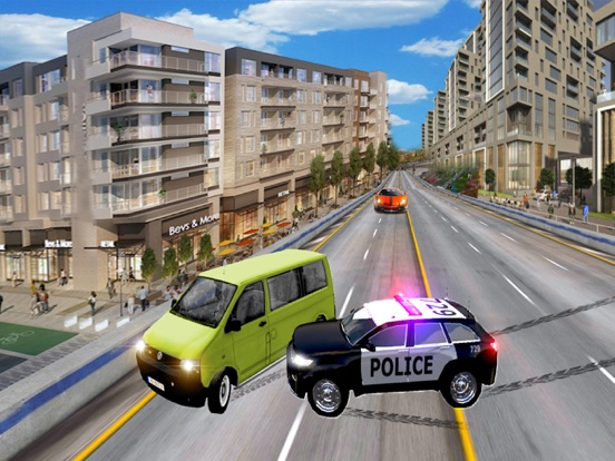 Police Highway Chase Games screenshot 10