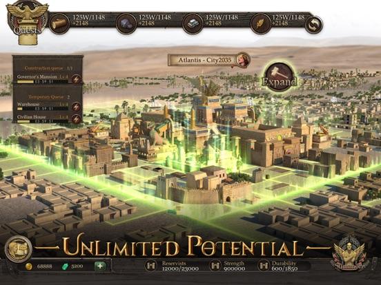 Immortal Conquest-War Strategy - Revenue & Download