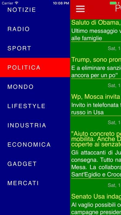 Italian news & radios Screenshots