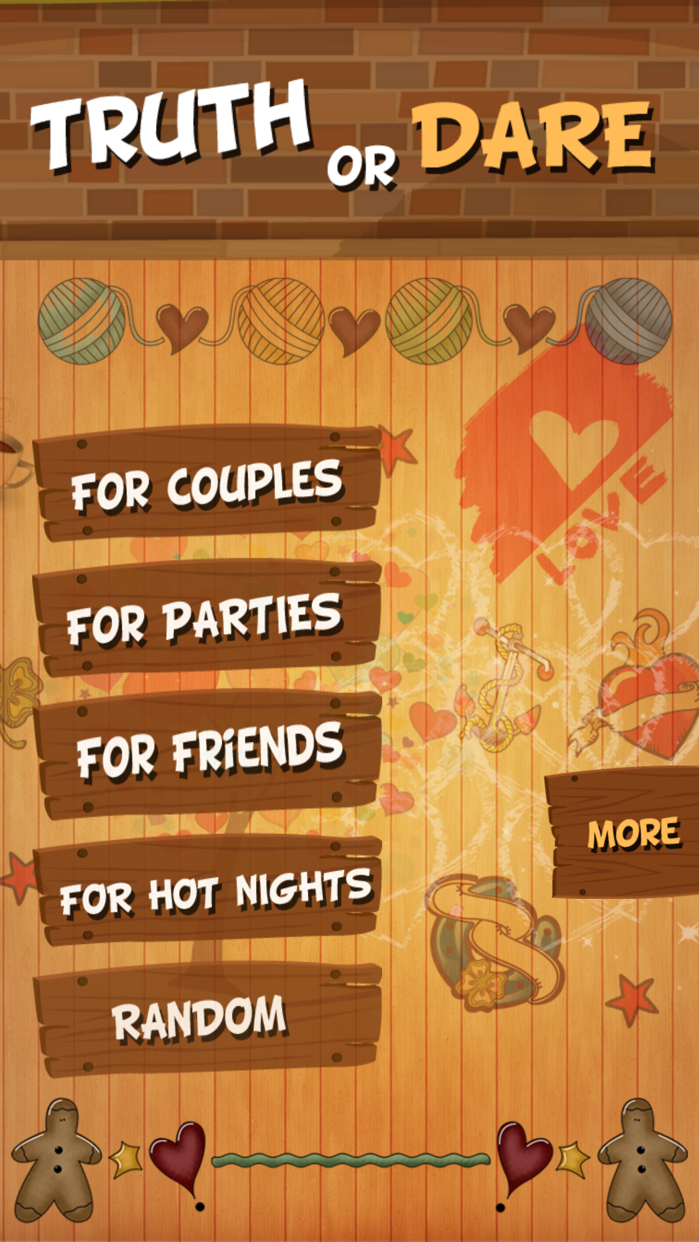 TRUTH or DARE Dirty Party Game Screenshot