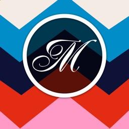 Monogram Wallpaper & Backgrounds - Monogram Maker