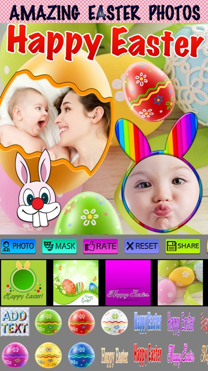 Easter Frames and Icons