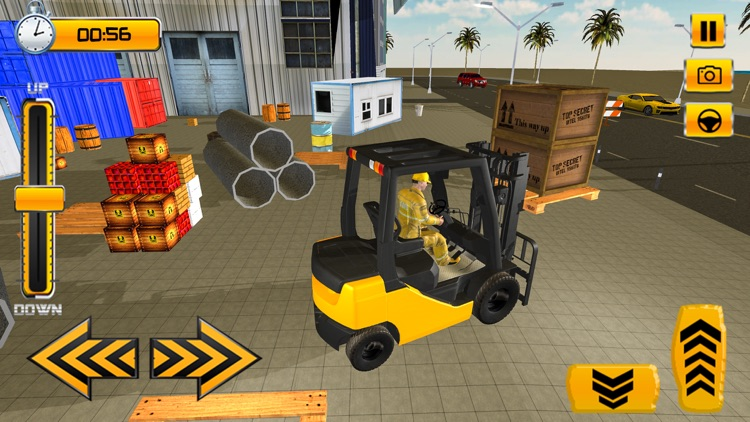 Forklift Simulator Game 2018 screenshot-3