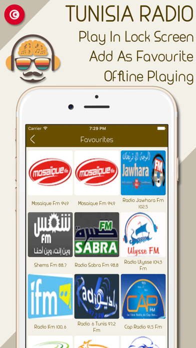 点击获取Live Tunisia Radio Stations