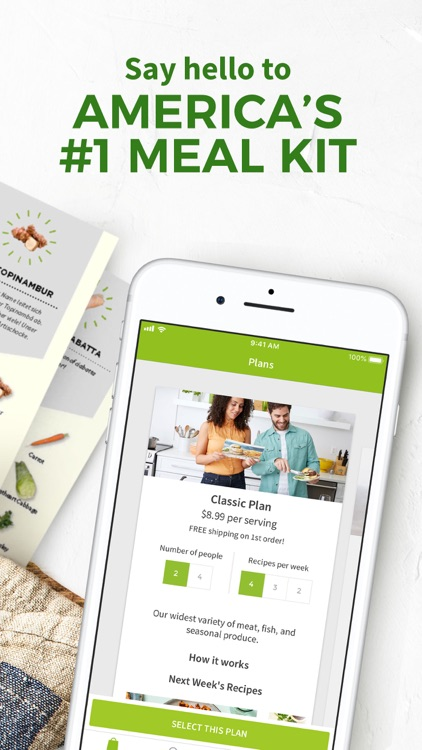 HelloFresh screenshot-0