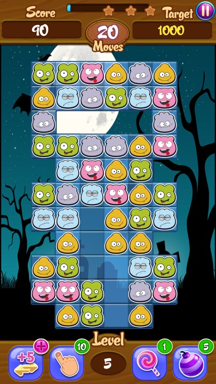Lil Monsters Jam: Match 3 Puzzle Game screenshot-4