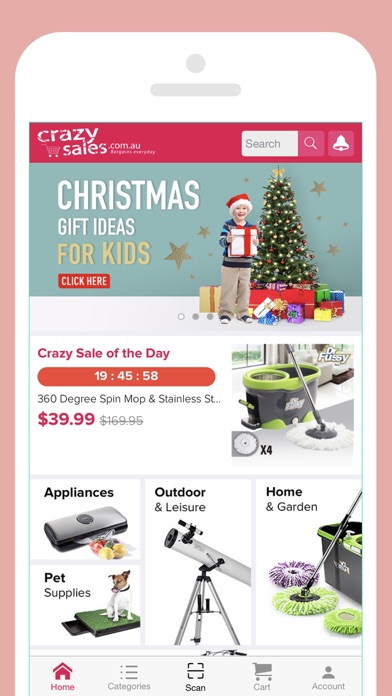 Download Crazysales - Online Shopping for Pc