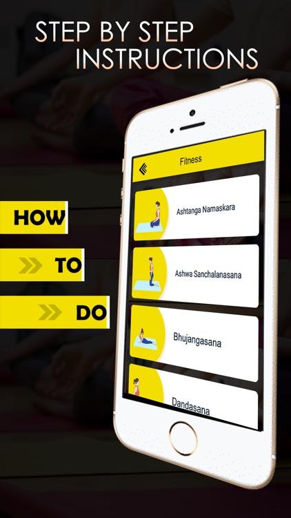 YOGA Asanas - Perfect fitness screenshot-3