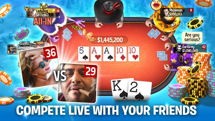 Governor of Poker 3 -  Online