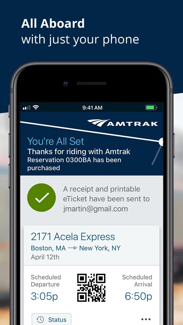 Amtrak Screenshot