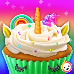 Unicorn Rainbow Cupcake