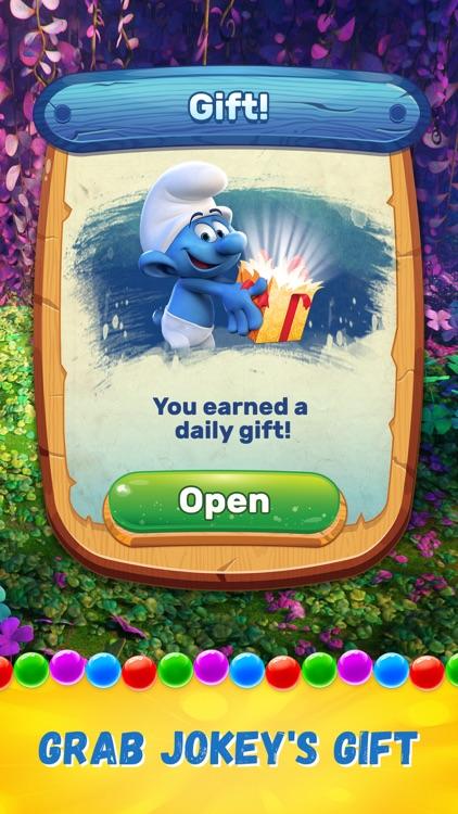 Smurfs Bubble Story screenshot-4