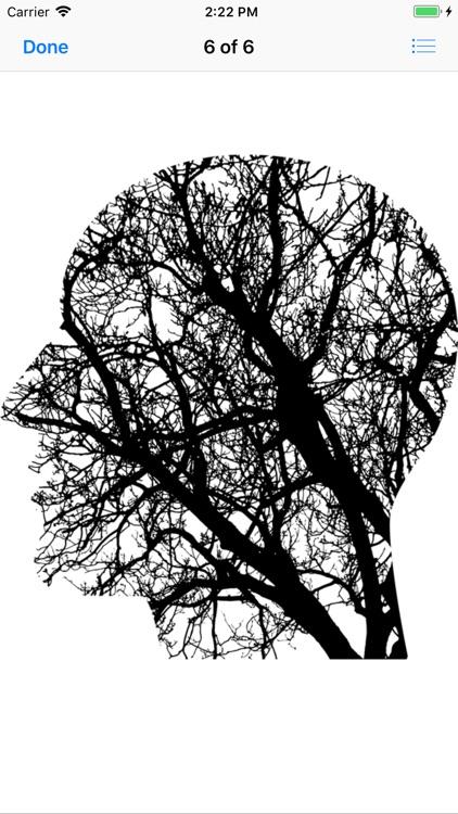 Cranial Abstract Art Stickers screenshot-9