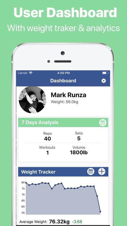 Gymster+ Gym Tracker & Macros screenshot-8
