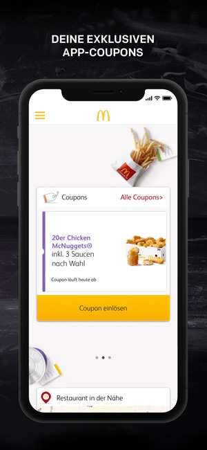 Restaurant coupons app iphone