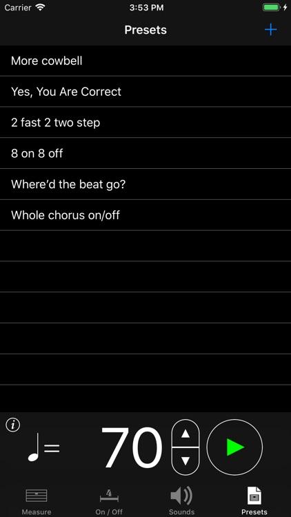 MyTronome screenshot-4