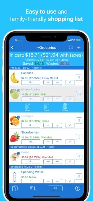 intellilist shopping list on the app store