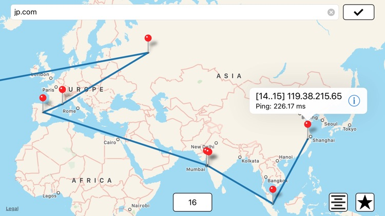 Intrace: Visual Traceroute screenshot-3
