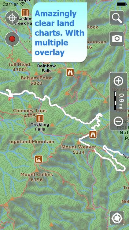 Terra Map - GPS Hiking maps screenshot-0