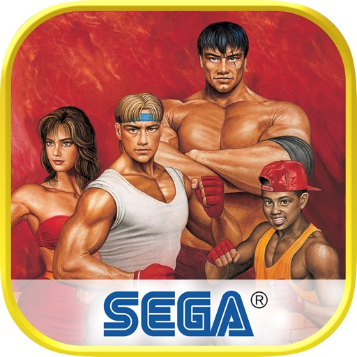 【SEGA出品复古街机】怒之铁拳2